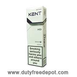10 Cartons of Kent Blue HD Navy Blue Cigarettes