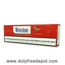 6 Cartons of Winston Red King Size Box Cigarette