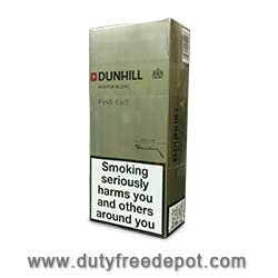 6 Cartons of Dunhill Fine Cut Gold/White