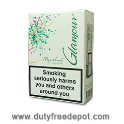 6 Cartons Of Glamour Menthol Superslims Cigarettes