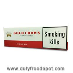 6 Cartons of Gold Crown King Size Cigarettes