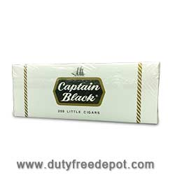 6 Cartons of Captain Black Little Cigars (6 x 200)