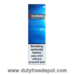 6 Cartons of Dunhill masterblend Blue/Light King Size Cigarettes-White Filter.