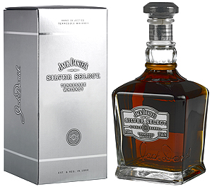 Jack Daniel`s Silver Select Whiskey (750 ml.) With Gift Box