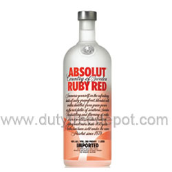 Absolut Ruby Red Vodka (1L)