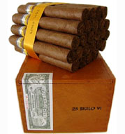 Cohiba Siglo VI  Box of 25 Havana Cigars