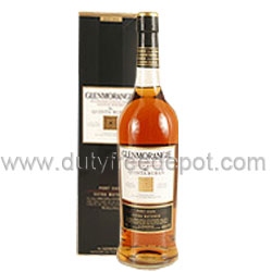 Glenmorangie Quinta Ruban Whiskey (1L) With Gift Box
