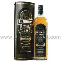Bushmills Malt Irish 10 Years Old Whisky (1L) With Gift Box