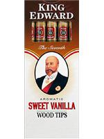 50 Cigars King Edward Tip Vanilla (10 Packs Of 5 Cigars)