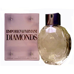 Emporio Armani Diamonds Eau De Parfum Spray (100 ml./3.4 oz.)