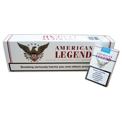 10 Cartons of American Legend White Cigarettes
