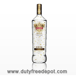 Smirnof Gold 37.5% Vodka 1 LITER