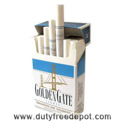 Golden Gate Blue King Size Hard Pack