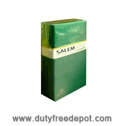 Salem Green/Light  Menthol Cigarette
