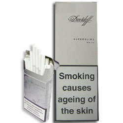 Davidoff Superslims White Cigarettes