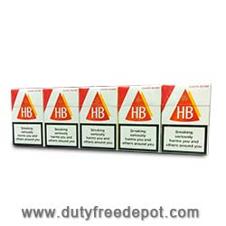 Cigarettes brand black
