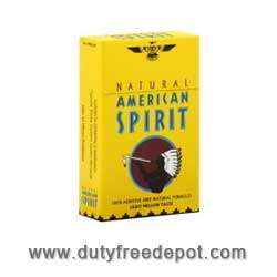 Natural American Spirit Cigarettes Yellow
