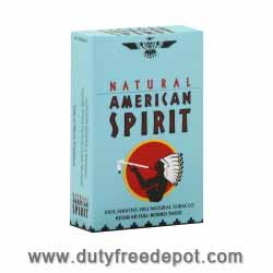 Natural American Spirit Blue