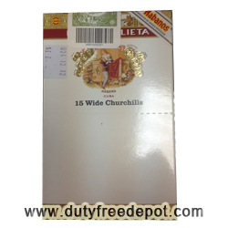 Romeo Y Julieta Wide Churchills Cigars (15 Cigars)