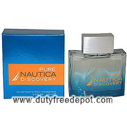Pure Nautica Discovery Men Eau De Toilette Spray (100 ml./3.4 oz.)