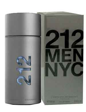 Carolina Herrera 212 Men Eau De Toilette Spray (100 ml./3.4 oz.)