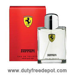Ferrari Red Eau De Toilette Spray For Men (125 ml./4.2 oz.)