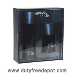 Giorgio Armani Code Eau De Toilette for men + Miniature (75 + 20 ML)
