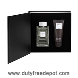 Lalique Hommage a L' Homme  Father's Day Set (Eau de Toilette 100ml, Shower Gel 150ml)