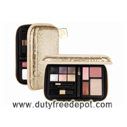 Lancome Travel Chic Evening Make Up Pouch - Golden Edition