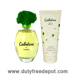 Gres Cabotine Duty Free Duo Set (EdT 100ml, Body Lotion 200ml)