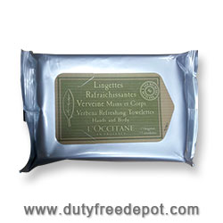 L'Occitane Verbena Wipes