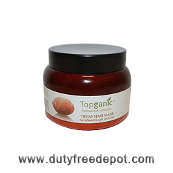 Topganic Baobab Oil From Africa Treat Hair Mask (500 ml/17.0 oz)