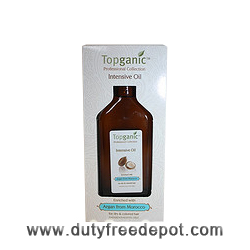 Topganic Argan Oil From Morocco Intensive Oil (100 ml./3.4 oz.)
