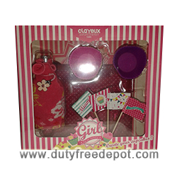 Clayeux Cupcake Set For Girls Eau De Toilette (100 ml./3.4 oz.) + Cupcakes