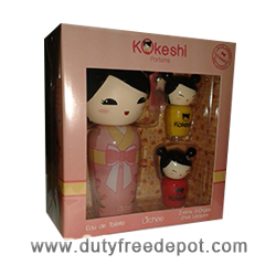 Kokeshi Litchee Set of 2 Nail Lacquers + 1 Eau de Toilette (50 ml./1.7 oz.)