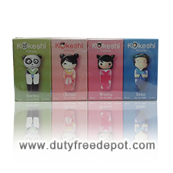 Kokeshi Set Of (4X5ml)  Miniatures Eau De Senteur
