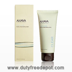 Ahava Time To Clear Facial Mud Exfoliator (100 ml./3.4 oz.)