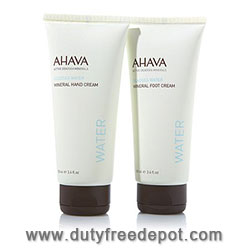 Ahava Plants Algea Hand Cream + Foot Cream Set 3X(100 ml./3.4 oz.)