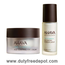 Ahava Age Control Face Cream & Serum Kit (2X50ml+30ml)