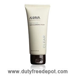 Ahava Time To Clear Rich Cleansing Cream (100 ml./3.4 oz.)