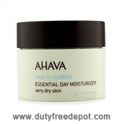 Ahava Time To Hydrate Essential Day Moisturizer Very Dry Skin (50 ml./1.7 oz.)