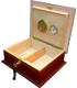 Original Wooden Cigars Box with 2 keys, Special Edition