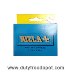 Rizla Rolling Papers Fine Weight (100 mm) King Size Blue (15 Booklets/Cahiers/Estuches)