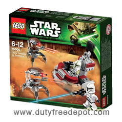 LEGO Star Wars Clone Troopers vs. Droidekas Set