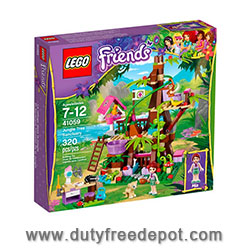 LEGO Friends Jungle Tree Sanctuary