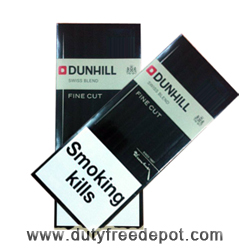 10 Cartons of Dunhill Fine Cut Black+ Chivas Regal 12 Y.O. Whisky  50CL