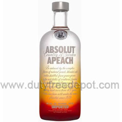 Absolut Peach Vodka  40% (1L)