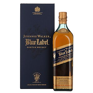 Johnnie Walker Blue Label Whisky (1L), With Gift Box