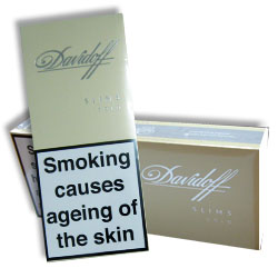 6 Cartons of Davidoff Gold Slims Cigarette
