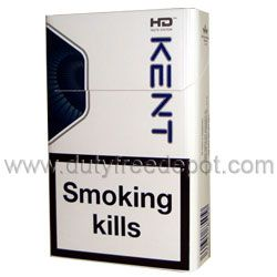 6 Cartons of Kent King Size HD Blue Cigarette